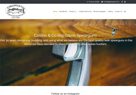 Collins Big Game Spearguns