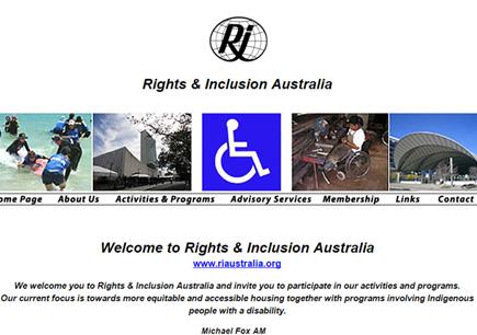 Right & Inclusions Australia